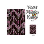 Pearly Pattern  Playing Cards 54 (Mini)  Front - Spade7