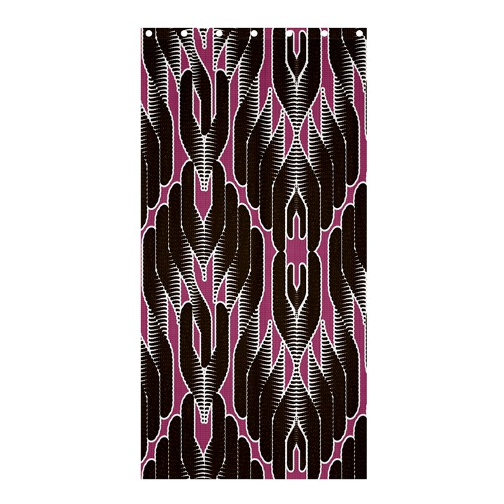 Pearly Pattern  Shower Curtain 36  x 72  (Stall)