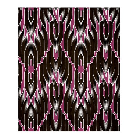 Pearly Pattern  Shower Curtain 60  x 72  (Medium)