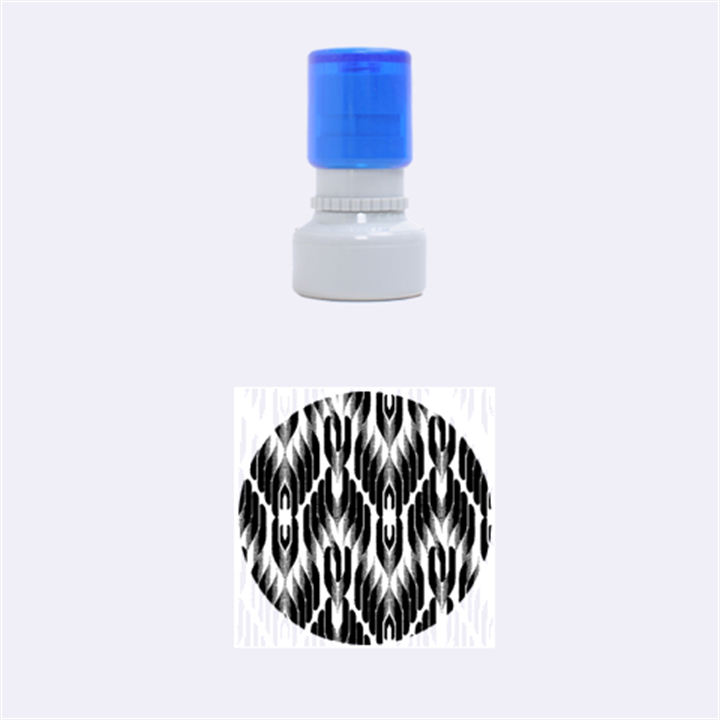 Pearly Pattern  Rubber Round Stamps (Small)