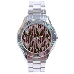 Pearly Pattern  Stainless Steel Analogue Watch Front