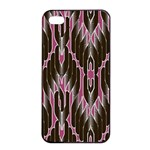 Pearly Pattern  Apple iPhone 4/4s Seamless Case (Black) Front