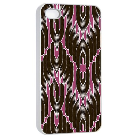 Pearly Pattern  Apple iPhone 4/4s Seamless Case (White)