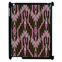 Pearly Pattern  Apple iPad 2 Case (Black)
