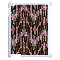 Pearly Pattern  Apple iPad 2 Case (White)