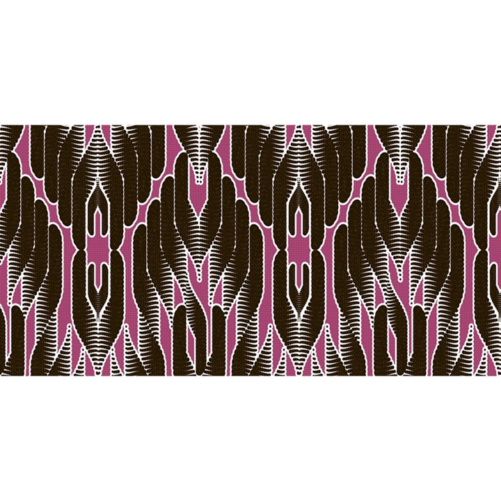 Pearly Pattern  YOU ARE INVITED 3D Greeting Card (8x4)