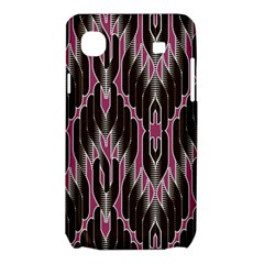 Pearly Pattern  Samsung Galaxy SL i9003 Hardshell Case