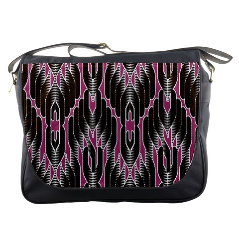 Pearly Pattern  Messenger Bags