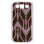 Pearly Pattern  Samsung Galaxy S III Case (White) Front