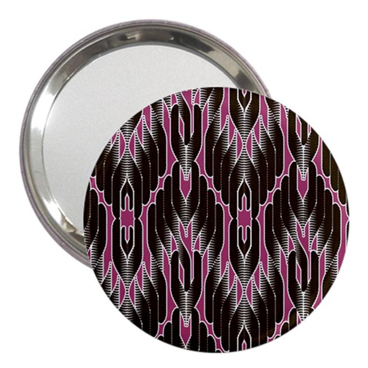 Pearly Pattern  3  Handbag Mirrors