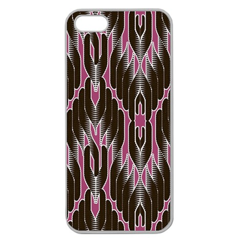 Pearly Pattern  Apple Seamless iPhone 5 Case (Clear)