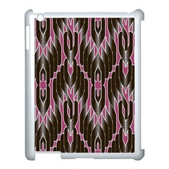 Pearly Pattern  Apple iPad 3/4 Case (White)
