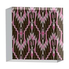 Pearly Pattern  5  x 5  Acrylic Photo Blocks