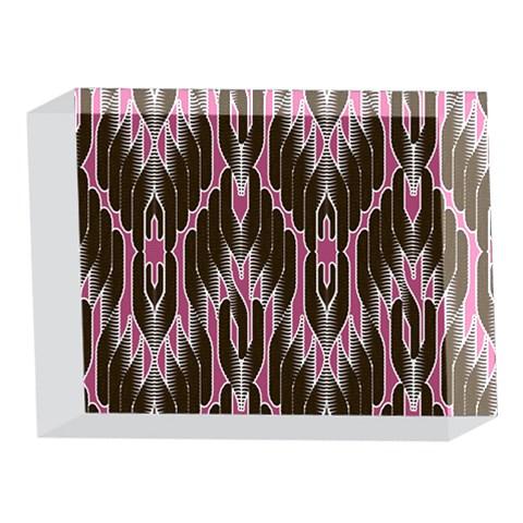 Pearly Pattern  5 x 7  Acrylic Photo Blocks