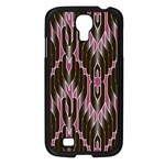 Pearly Pattern  Samsung Galaxy S4 I9500/ I9505 Case (Black) Front