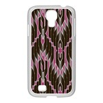 Pearly Pattern  Samsung GALAXY S4 I9500/ I9505 Case (White) Front