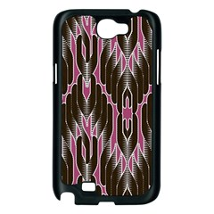 Pearly Pattern  Samsung Galaxy Note 2 Case (Black)