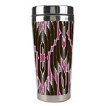 Pearly Pattern  Stainless Steel Travel Tumblers Left
