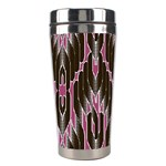 Pearly Pattern  Stainless Steel Travel Tumblers Right
