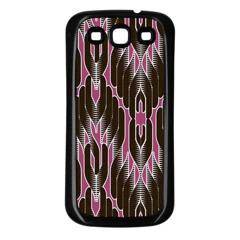 Pearly Pattern  Samsung Galaxy S3 Back Case (Black)