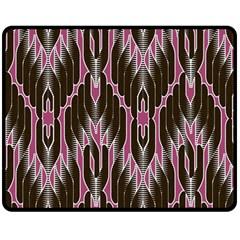 Pearly Pattern  Double Sided Fleece Blanket (Medium)