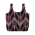 Pearly Pattern  Full Print Recycle Bags (M)  Back