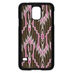 Pearly Pattern  Samsung Galaxy S5 Case (Black) Front