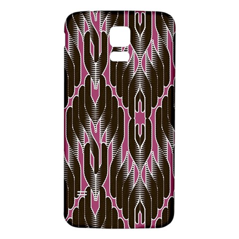 Pearly Pattern  Samsung Galaxy S5 Back Case (White)