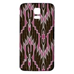 Pearly Pattern  Samsung Galaxy S5 Back Case (White) Front