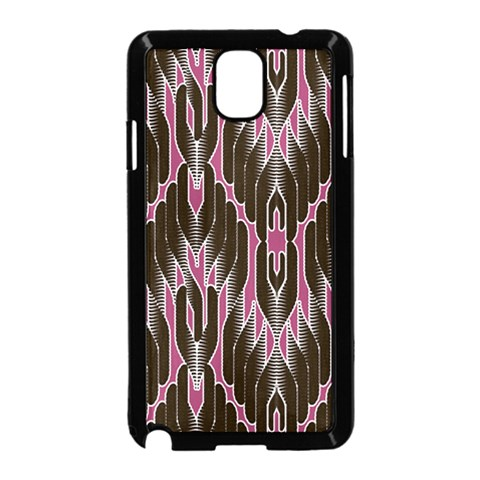Pearly Pattern  Samsung Galaxy Note 3 Neo Hardshell Case (Black)