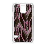 Pearly Pattern  Samsung Galaxy S5 Case (White) Front