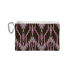Pearly Pattern  Canvas Cosmetic Bag (S)
