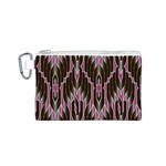 Pearly Pattern  Canvas Cosmetic Bag (S) Front