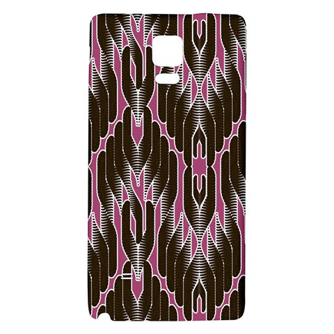 Pearly Pattern  Galaxy Note 4 Back Case