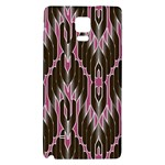 Pearly Pattern  Galaxy Note 4 Back Case Front