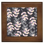Winter Beautiful Foliage  Framed Tiles Front
