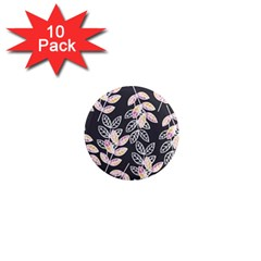 Winter Beautiful Foliage  1  Mini Magnet (10 Pack)