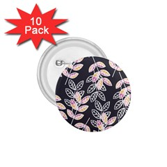 Winter Beautiful Foliage  1 75  Buttons (10 Pack)