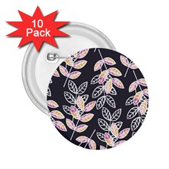Winter Beautiful Foliage  2 25  Buttons (10 Pack)