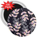 Winter Beautiful Foliage  3  Magnets (100 pack) Front
