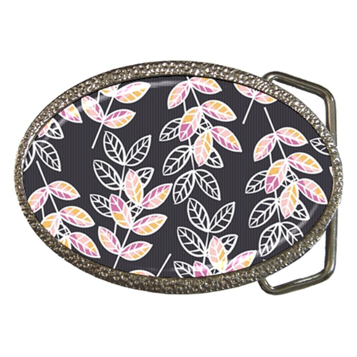 Winter Beautiful Foliage  Belt Buckles