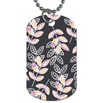 Winter Beautiful Foliage  Dog Tag (Two Sides) Back