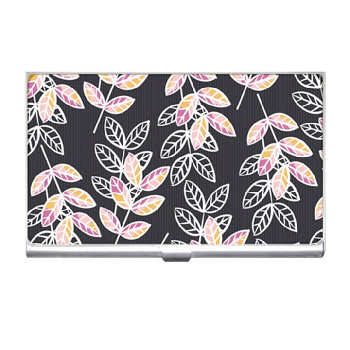 Winter Beautiful Foliage  Business Card Holders