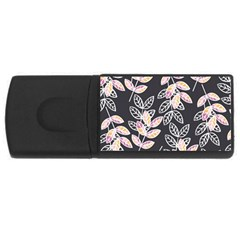 Winter Beautiful Foliage  USB Flash Drive Rectangular (2 GB)