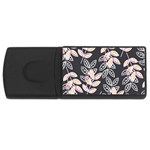 Winter Beautiful Foliage  USB Flash Drive Rectangular (2 GB)  Front