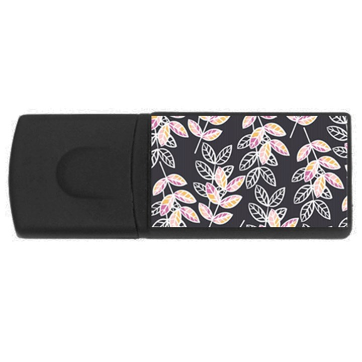 Winter Beautiful Foliage  USB Flash Drive Rectangular (1 GB)