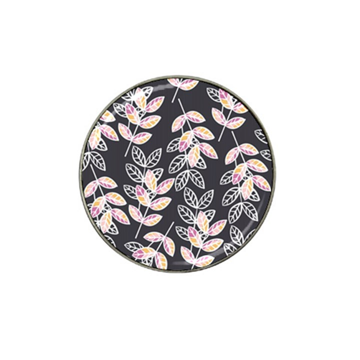 Winter Beautiful Foliage  Hat Clip Ball Marker (4 pack)