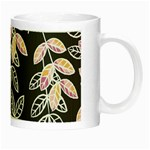 Winter Beautiful Foliage  Night Luminous Mugs Right