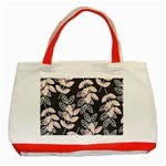 Winter Beautiful Foliage  Classic Tote Bag (Red) Front