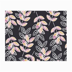 Winter Beautiful Foliage  Small Glasses Cloth (2-Side)